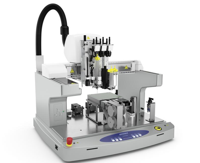 Máy in 3D đa nguyên liệu lỏng Infotech