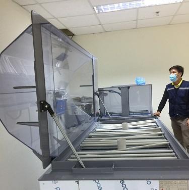 Lắp đặt, bàn giao máy phun muối VT-ST 480-86 tiêu chuẩn CASS