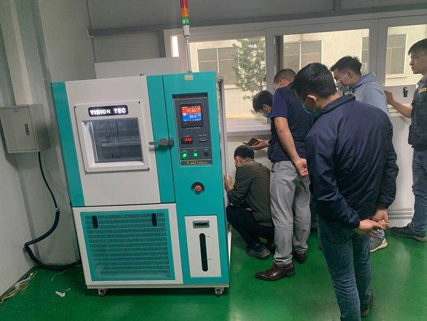 Bàn giao tủ thử nghiệm nhiệt độ và độ ẩm VT-THC100A cho Seoul Metal