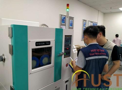 Lắp đặt, bàn giao tủ nhiệt độ-độ ẩm tại KCN Song Khê-Nội Hoàng