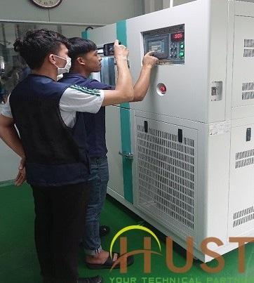 Bàn giao tủ thử nghiệm sốc nhiệt model VT-TSC 100
