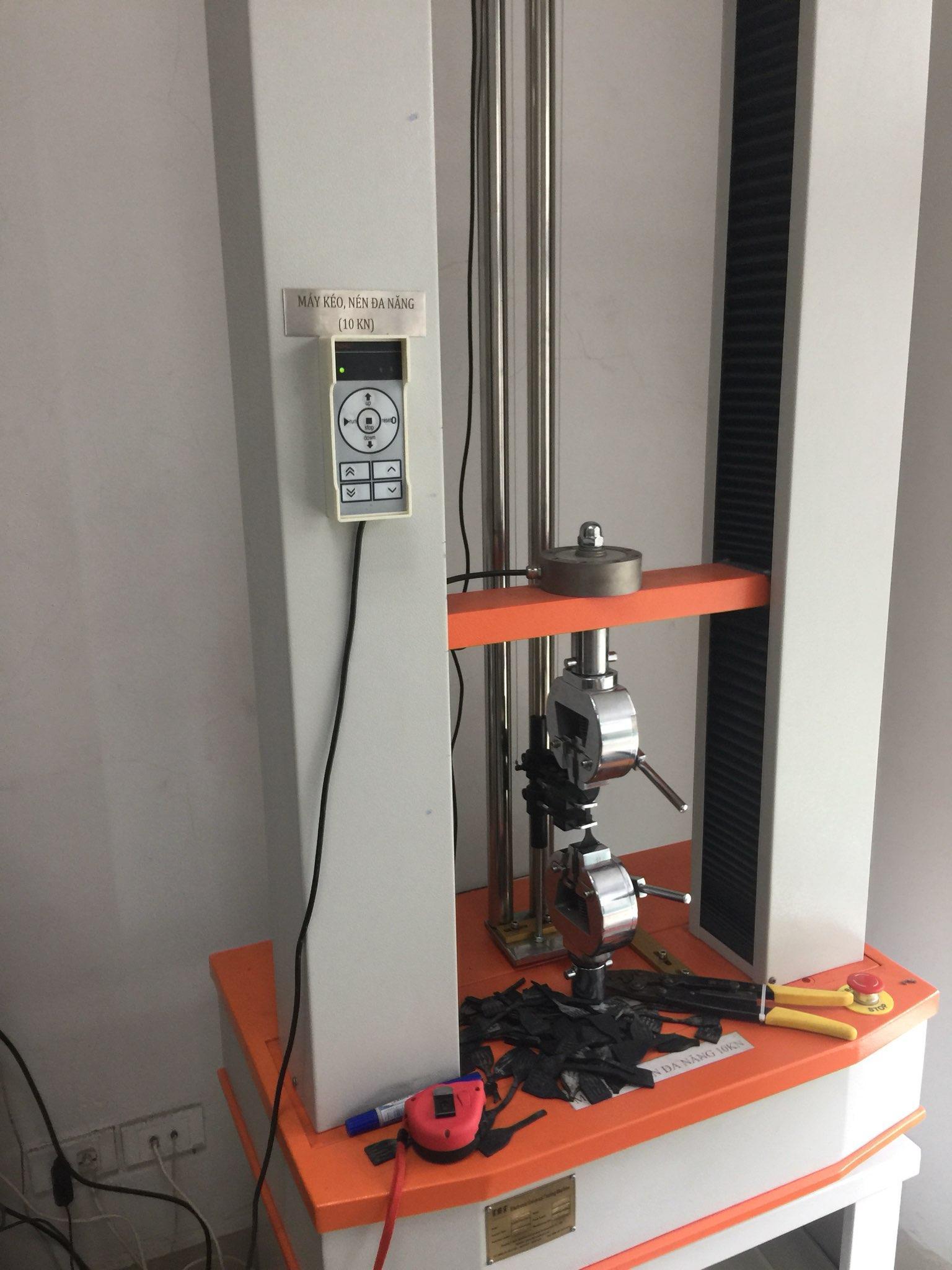 Sửa chữa máy thử nghiệm kéo nén vạn năng (UTM) 10kN - KCN Phố Nối B