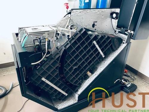 Sửa chữa máy quang phổ phát xạ cho Viện Nghiên cứu Cơ khí