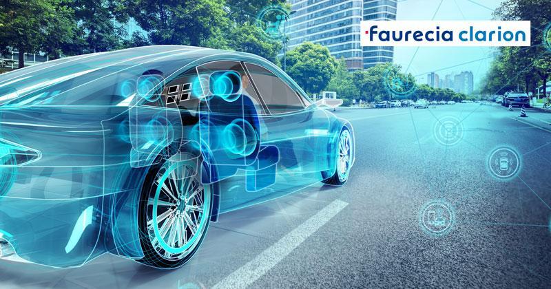 Faurecia sử dụng Gap Gun Pro2 và T60  đo độ phẳng và khe hở trên các vị trí cánh cửa và xung quanh vị trí đặt loa trên xe ô tô