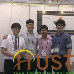 HUST - Vision Tec tham dự triển lãm quốc tế 2016 Gwangju