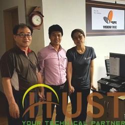 HUST tham gia đào tạo tại nhà máy Vision Tec