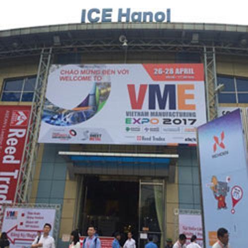 HUST Việt Nam tham gia triển lãm VIETNAM MANUFACTURING EXPO 2017