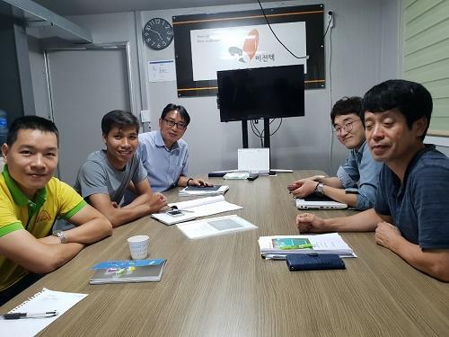 Kỹ sư HUST VN tham giao đào tạo nâng cao tại VISION TEC