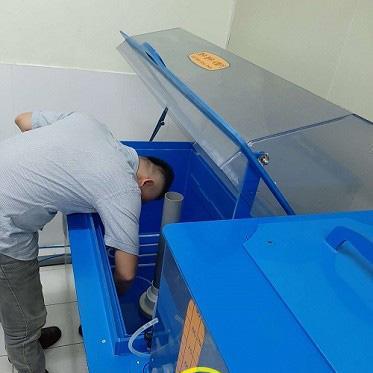 Sửa chữa máy phun sương muối tại KCN Điềm Thụy
