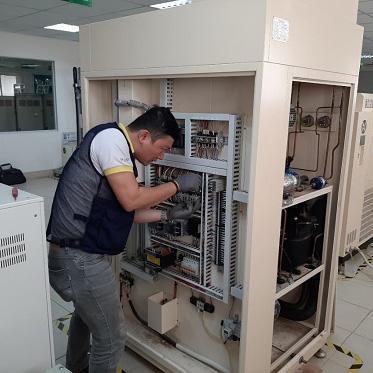 Sửa chữa hệ thống điện cho tủ sốc nhiệt, tủ nhiệt độ - độ ẩm
