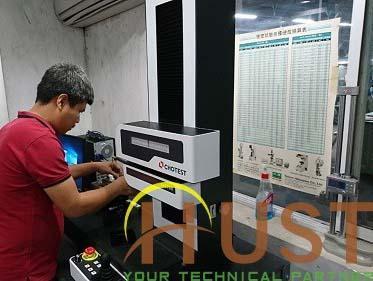 Lắp đặt, hướng dẫn vận hành máy đo Biên dạng & Độ nhám