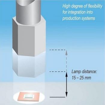 Đèn Led sấy khô keo siêu nhanh DELOLUX 80