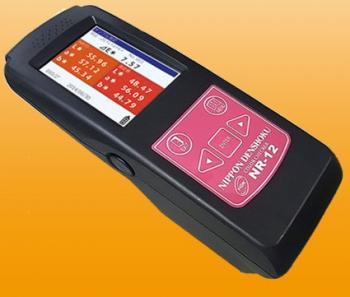 Máy đo màu và đo mật độ cầm tay NR-12B