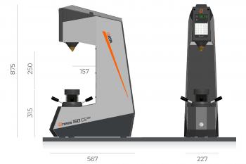 Máy đo độ cứng Rockwell hàng Châu Âu giá tốt