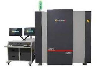 Máy X-ray công suất lớn soi mẫu nhôm đúc